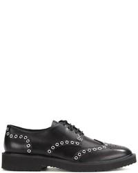 Giuseppe Zanotti Design Grommet Embellished Derby Shoes