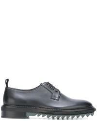 Lanvin Ridged Sole Derby Shoes