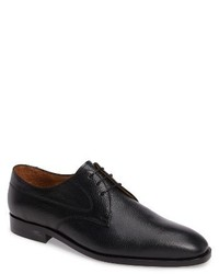 Leo pebbled plain toe derby medium 1247239
