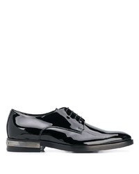 Balmain Metal Appliqu Oxford Shoes