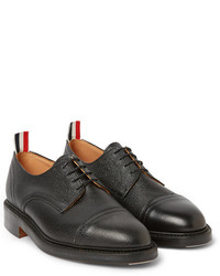 Pebbled-leather derby shoe Thom Browne JFtMnEaCx