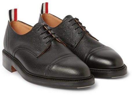 Thom Browne Leather derby shoes ncrQreQK9