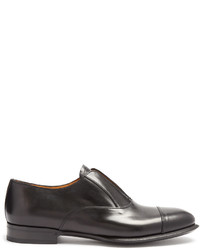 Alexander McQueen Slip On Leather Derby Shoes