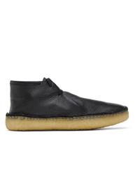 Lemaire Black Laced Desert Boots