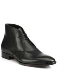 Ralph Lauren Gilmer Leather Chukka Boots