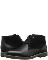 Armani Jeans Saffiano Leather Chukka Boot