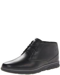 timberland bradstreet chukka boots black