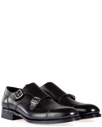 DSquared 2 Leather Double Monk Shoes
