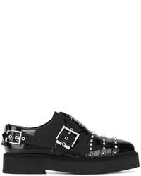 Alexander McQueen Studded Monk Shoes