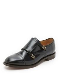 H By Hudson Baldwin Double Monk Strap Shoes