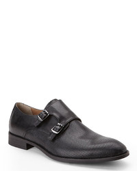 Vince Camuto Black Tedesco Monk Strap Loafers