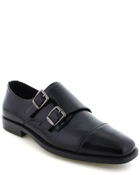 Deer Stags Colin Twin Buckle Monk Dress Shoes