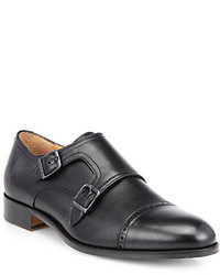 Saks Fifth Avenue Collection Double Monk Strap Dress Shoes