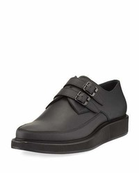 Lanvin Double Monk Creeper Shoe