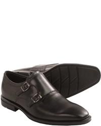 Ecco Faro Monk Strap Shoes