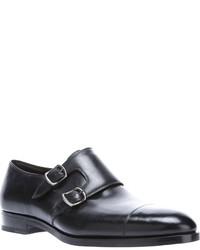 Fratelli Rossetti Double Monk Strap Shoe