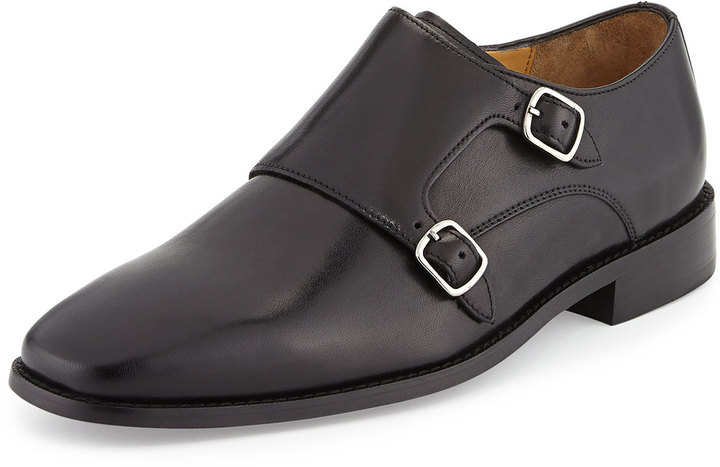 450ddc03c247b ... Double Monks Cole Haan Giraldo Monk Strap Loafer Black ...