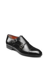 Santoni Inca Double Monk Shoe
