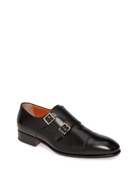 Santoni Innocent Double Monk Shoe