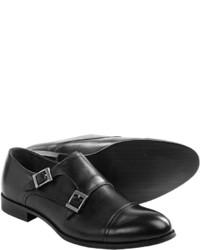 Joseph Abboud Irwin Monk Strap Shoes Slip Ons