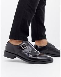 Farah Jeans High Shine Monk Shoe