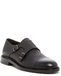 Hugo Boss Kemok Double Monk Strap Cap Toe Loafer