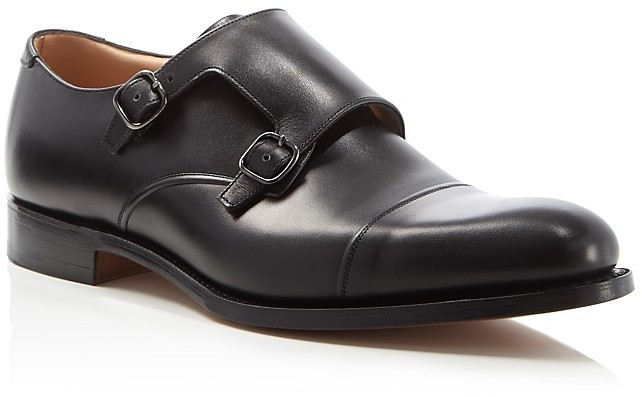 buckled monk shoes - Black Churchs