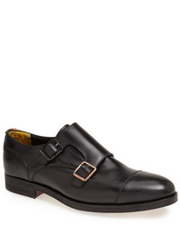 Ted Baker London Mazzano Double Monk Strap Leather Slip On
