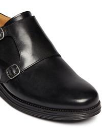 Cole Haan Lunargrand Double Monk Leather Shoes
