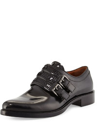 Givenchy Napoleone Leather Double Monk Shoe