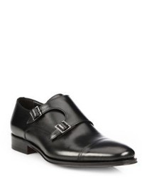 To Boot New York Grant Double Buckle Monk Strap Shoes