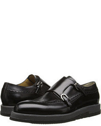 Cesare Paciotti Platform Monk Strap Oxford Lace Up Casual Shoes
