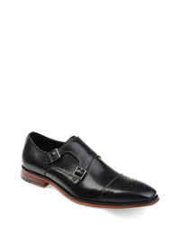Thomas & Vine Rockwell Double Cap Toe Monk Shoe