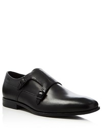 Hugo Boss Squamok Monk Strap Plain Toe Loafers