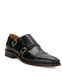 Kenneth Cole Reaction Sub Let Leather Monk Strap Loafers