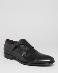 To Boot New York Grant Double Monk Strap Loafers