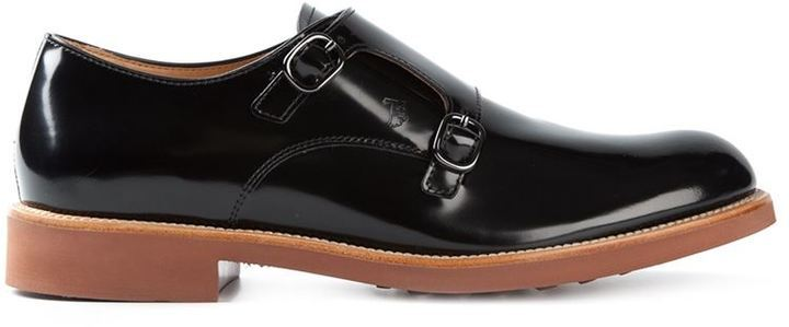 Monk Strap Shoes in Leather Tod's RunQubIw