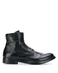 Officine Creative Flat Lace Up Boots