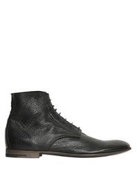 Premiata Tumbled Leather Lace Up Boots