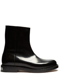 Vetements X Churchs Leather Ankle Boots