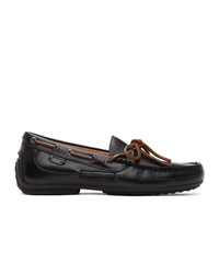 Polo Ralph Lauren Black Roberts Loafers