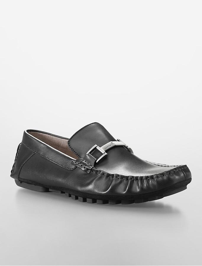 nuevo estilo f3ff8 41014 $130, Calvin Klein Dolan Driving Loafer