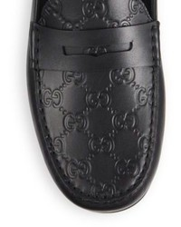 a014b55b3 Gucci Kanye Leather Driving Shoes, $550 | Saks Fifth Avenue ...