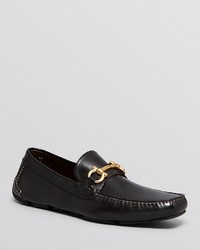 Salvatore Ferragamo Parigi Leather Driving Loafers