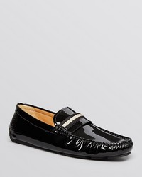 Bally Wabler Patent Leather Driving Loafers