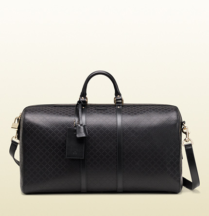 957dcc450fa ... Gucci Bright Diamante Leather Carry On Duffle Bag ...