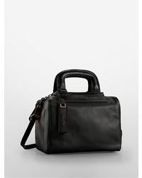 Calvin Klein Aster Mini Leather Duffle Bag