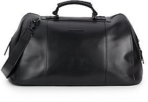 John Varvatos London Leather Duffel Bag