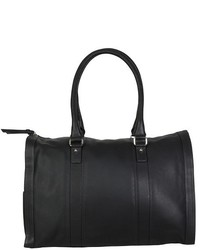 Hadaki Leather City Duffle Weekender Handbag