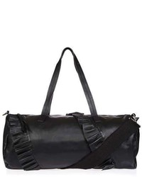 Leo Leather Duffle Luggage Bag